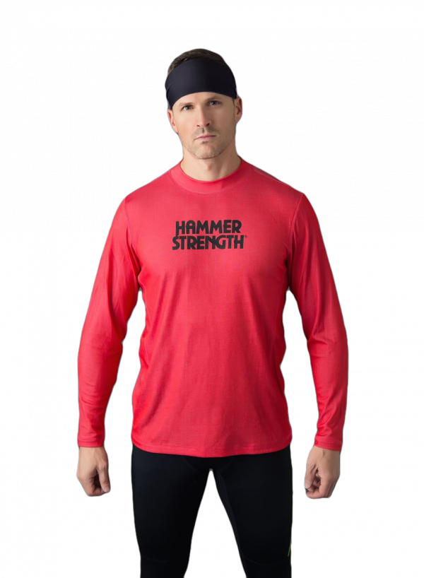 Men's Outlet Long Sleeve Semi-Fit Athletic Shirt